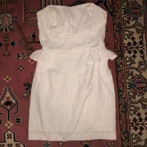 Lilly Pulitzer White Dress, altered to size 2!